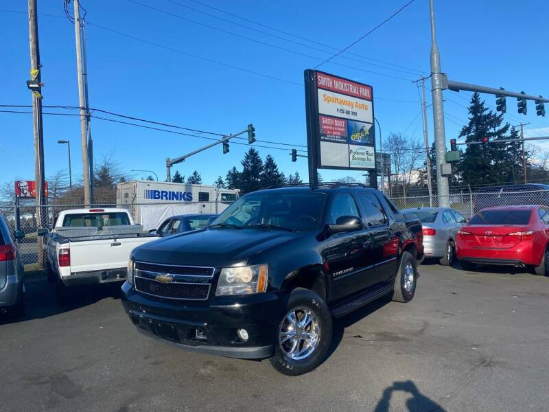 2007 Chevrolet Avalanche for sale at Tacoma Autos LLC in Tacoma WA