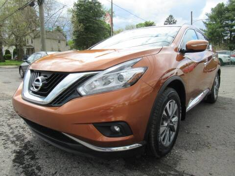 2015 Nissan Murano for sale at PRESTIGE IMPORT AUTO SALES in Morrisville PA
