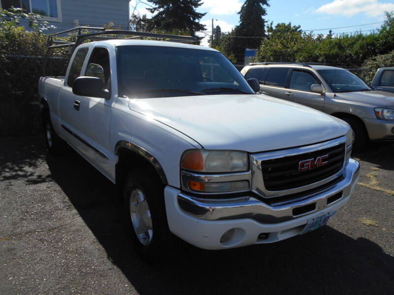 2004 GMC Sierra 1500 for sale at Family Auto Network in Portland OR
