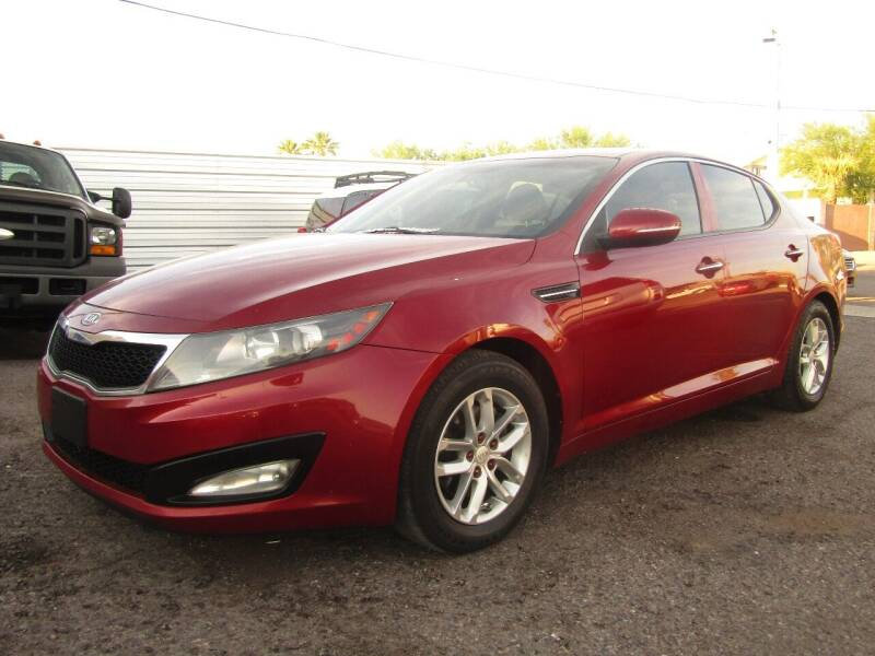 2012 Kia Optima for sale at Van Buren Motors in Phoenix AZ