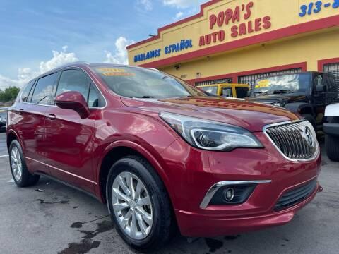 2018 Buick Envision for sale at Popas Auto Sales in Detroit MI