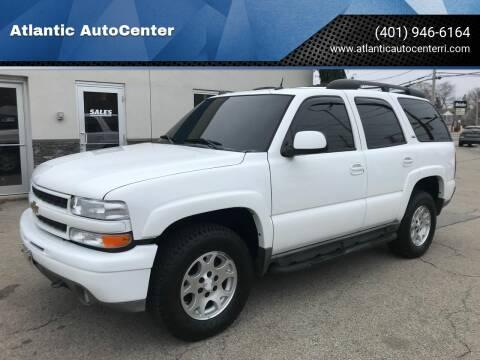 2005 Chevrolet Tahoe for sale at Atlantic AutoCenter in Cranston RI