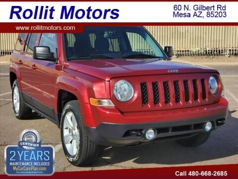 2017 Jeep Patriot for sale at Rollit Motors in Mesa AZ