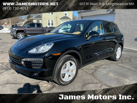 2013 Porsche Cayenne for sale at James Motors Inc. in East Longmeadow MA