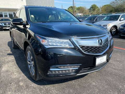 2014 Acura MDX for sale at KAYALAR MOTORS in Houston TX