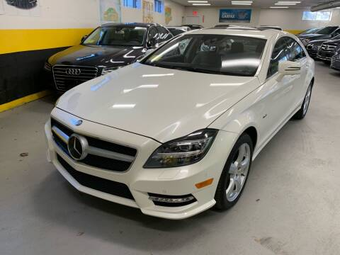 2012 Mercedes-Benz CLS for sale at Newton Automotive and Sales in Newton MA
