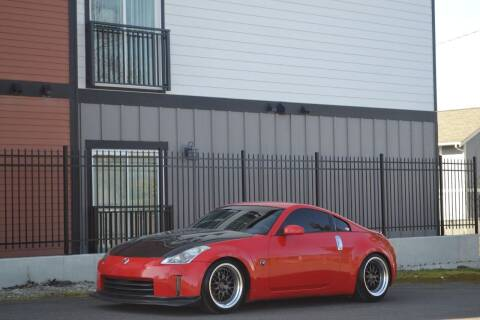 2008 Nissan 350Z for sale at Skyline Motors Auto Sales in Tacoma WA