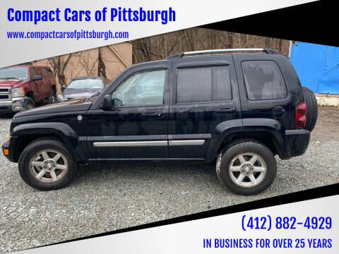 2007 Jeep Liberty for sale at Compact Cars of Pittsburgh in Pittsburgh PA