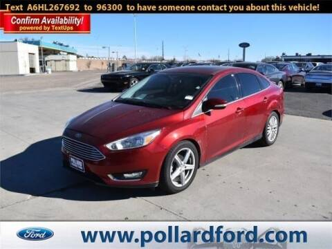 2017 Ford Focus for sale at South Plains Autoplex by RANDY BUCHANAN in Lubbock TX