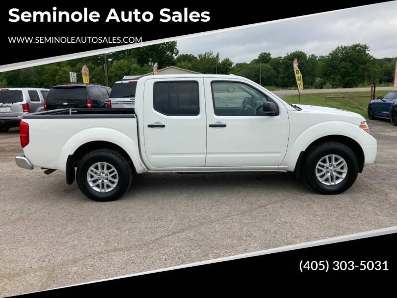 2018 Nissan Frontier for sale at Seminole Auto Sales in Seminole OK