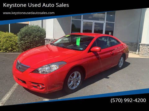 2008 Toyota Camry Solara for sale at Keystone Used Auto Sales in Brodheadsville PA
