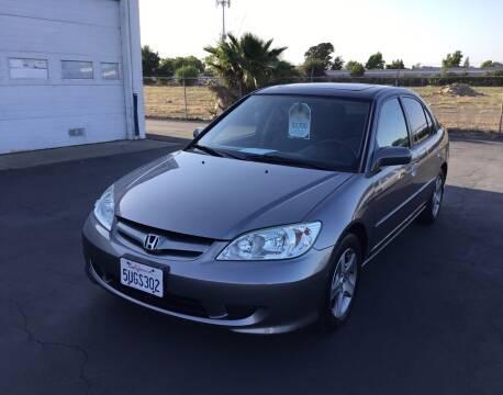 2004 Honda Civic for sale at My Three Sons Auto Sales in Sacramento CA