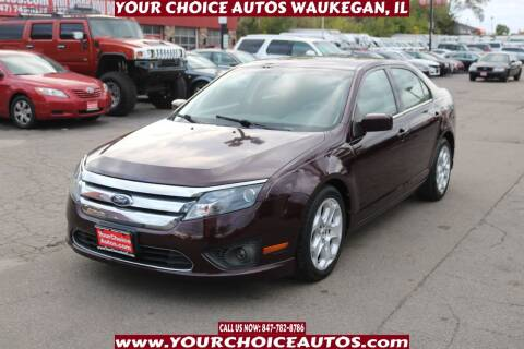 2011 Ford Fusion for sale at Your Choice Autos - Waukegan in Waukegan IL