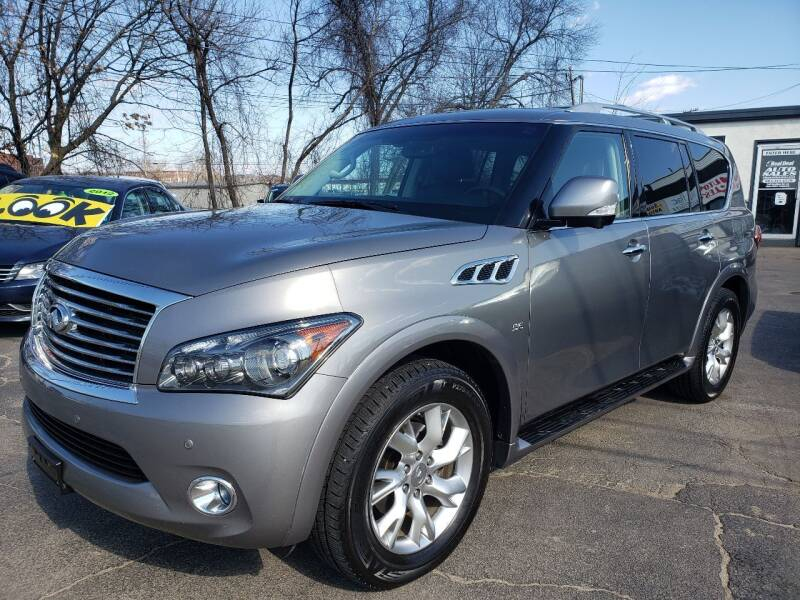 2014 Infiniti QX80 for sale at Real Deal Auto Sales in Manchester NH