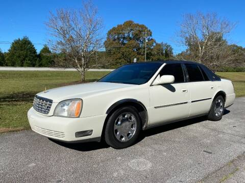 2002 Cadillac DeVille for sale at Front Porch Motors Inc. in Conyers GA