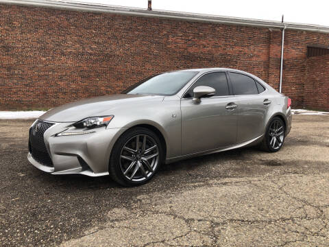 2015 Lexus IS 350 for sale at Jim's Hometown Auto Sales LLC in Byesville OH