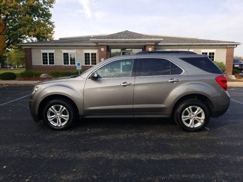 2012 Chevrolet Equinox for sale at Pierce Automotive, Inc. in Antwerp OH