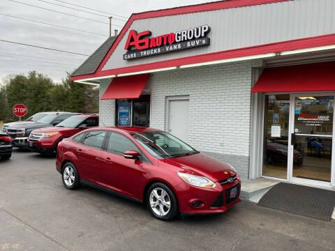 2013 Ford Focus for sale at AG AUTOGROUP in Vineland NJ