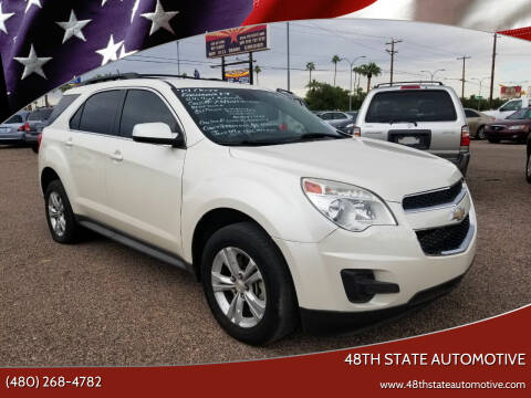 2014 Chevrolet Equinox for sale at 48TH STATE AUTOMOTIVE in Mesa AZ