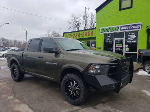 2012 RAM Ram Pickup 1500 for sale at Empire Auto Group in Indianapolis IN