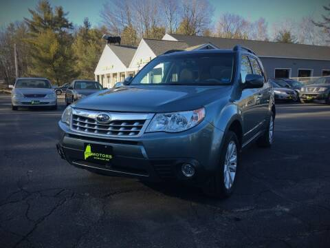 2012 Subaru Forester for sale at 207 Motors in Gorham ME