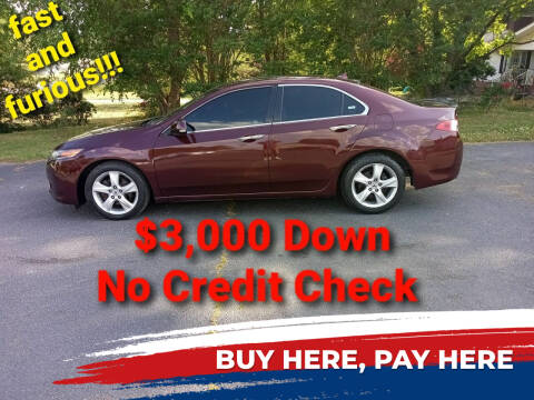 2009 Acura TSX for sale at BP Auto Finders in Durham NC