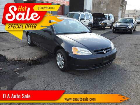 2001 Honda Civic for sale at O A Auto Sale in Paterson NJ