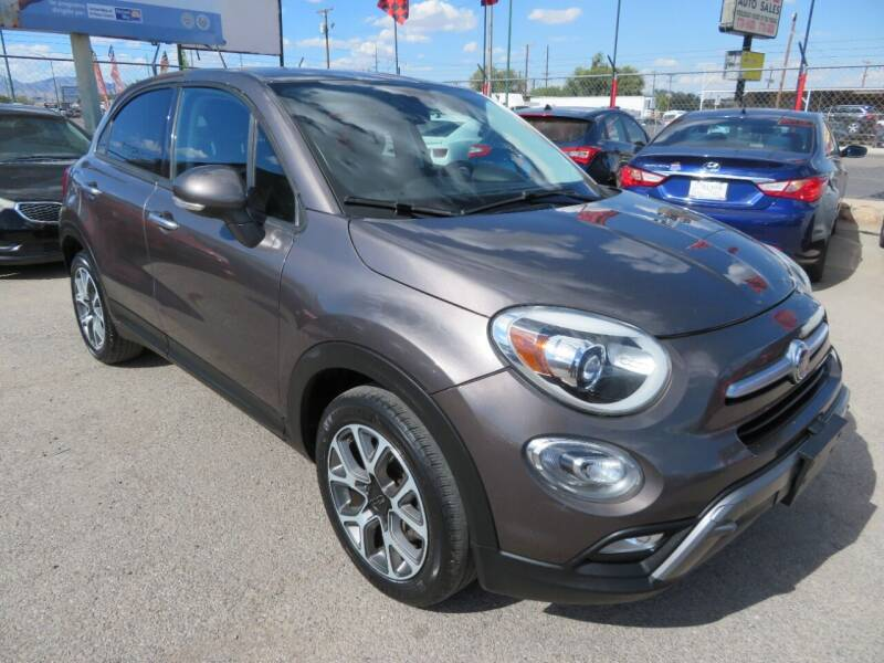 2017 FIAT 500X for sale at Moving Rides in El Paso TX