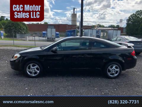 2008 Pontiac G5 for sale at C&C Motor Sales LLC in Hudson NC