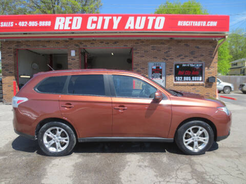 2014 Mitsubishi Outlander for sale at Red City  Auto in Omaha NE