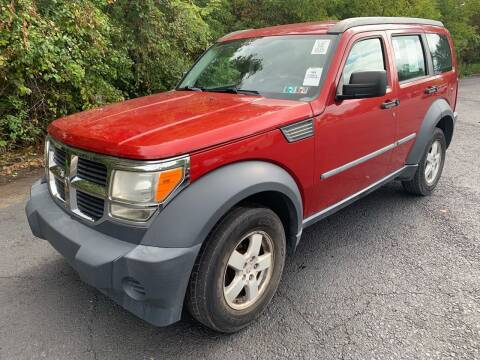 2008 Dodge Nitro for sale at Trocci's Auto Sales in West Pittsburg PA