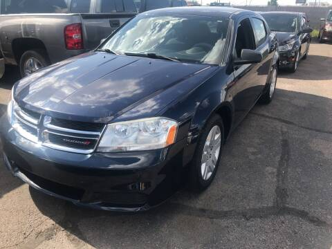 2013 Dodge Avenger for sale at Town and Country Motors in Mesa AZ