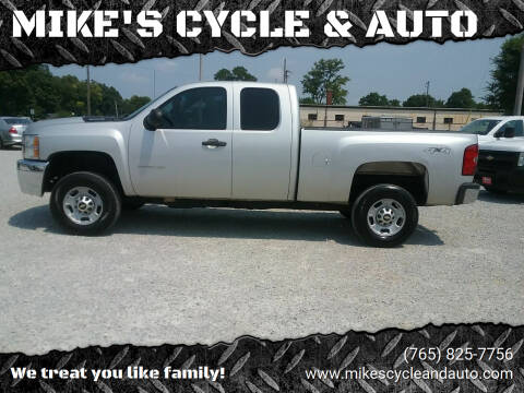 2011 Chevrolet Silverado 2500HD for sale at MIKE'S CYCLE & AUTO in Connersville IN