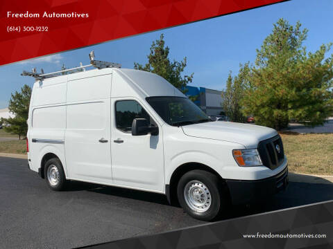 2016 Nissan NV Cargo for sale at Freedom Automotives in Grove City OH