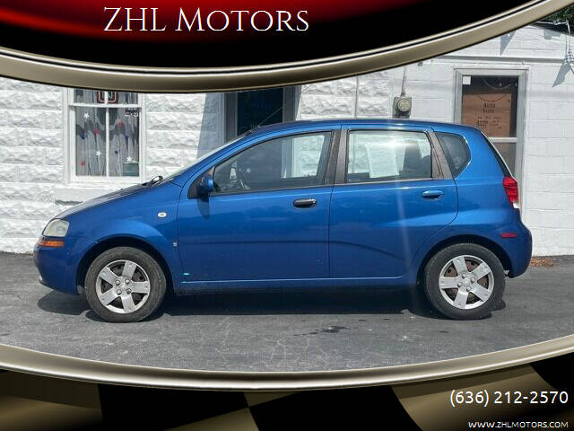 2008 Chevrolet Aveo for sale at ZHL Motors in House Springs MO