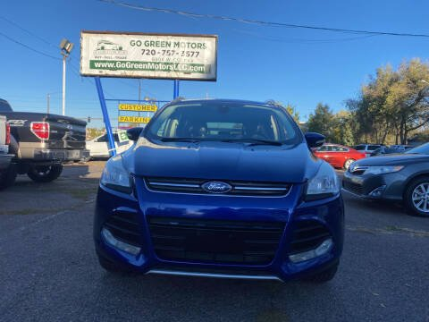 2015 Ford Escape for sale at GO GREEN MOTORS in Lakewood CO