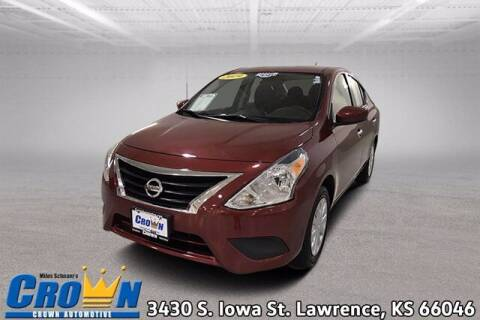2019 Nissan Versa for sale at Crown Automotive of Lawrence Kansas in Lawrence KS