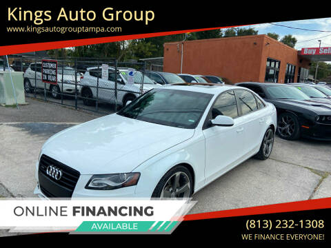 2011 Audi A4 for sale at Kings Auto Group in Tampa FL