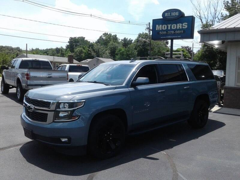 2016 Chevrolet Suburban for sale at Route 106 Motors in East Bridgewater MA