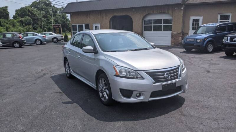 2014 Nissan Sentra for sale at Worley Motors in Enola PA
