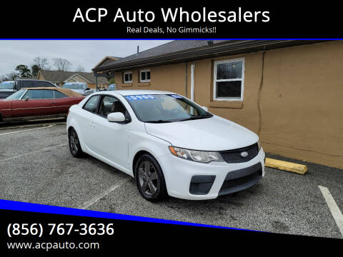 2010 Kia Forte Koup for sale at ACP Auto Wholesalers in Berlin NJ