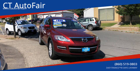 2008 Mazda CX-9 for sale at CT AutoFair in West Hartford CT