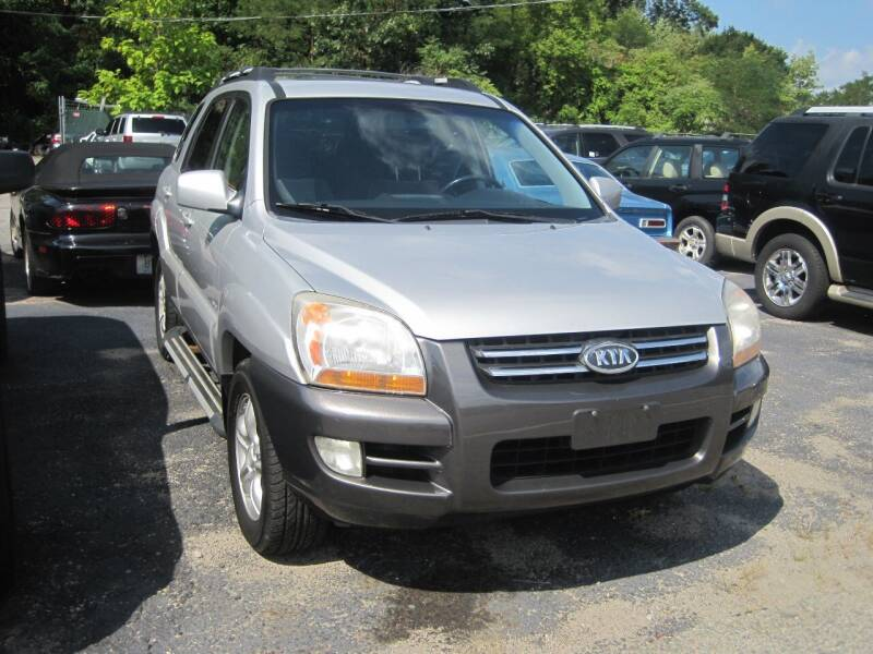 2006 Kia Sportage for sale at Zinks Automotive Sales and Service - Zinks Auto Sales and Service in Cranston RI