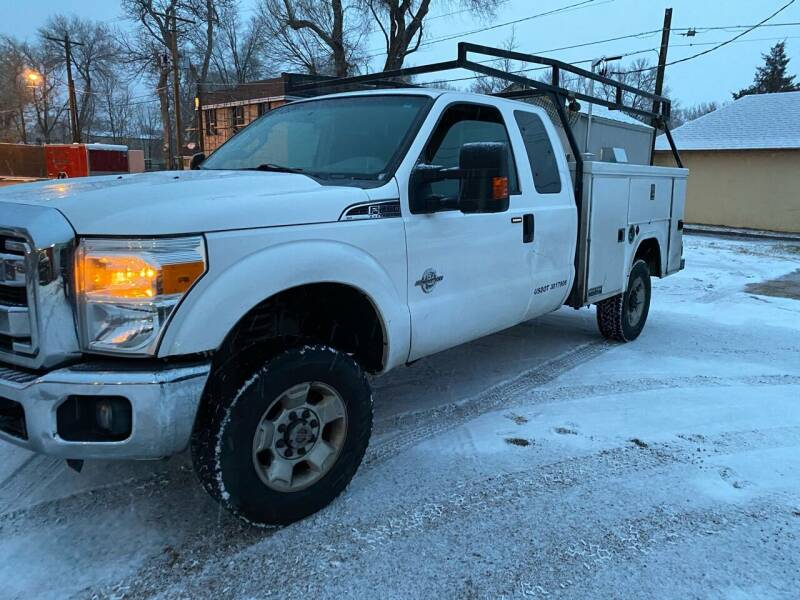 2012 Ford F-250 Super Duty for sale at PYRAMID MOTORS AUTO SALES in Florence CO