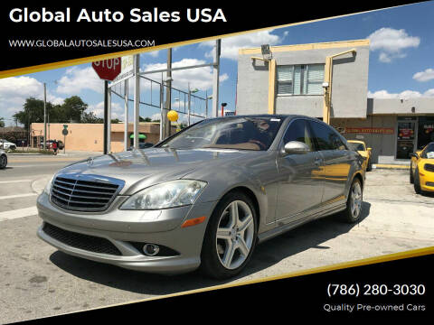 2007 Mercedes-Benz S-Class for sale at Global Auto Sales USA in Miami FL
