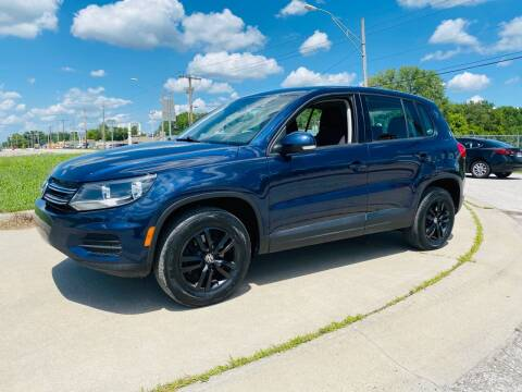 2013 Volkswagen Tiguan for sale at Xtreme Auto Mart LLC in Kansas City MO