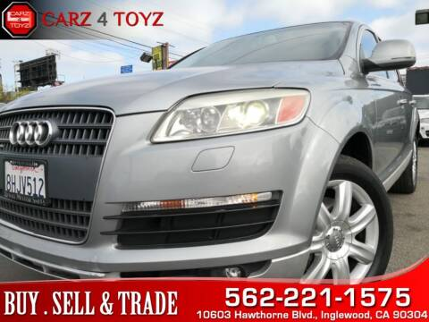 2007 Audi Q7 for sale at Carz 4 Toyz in Inglewood CA
