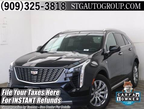2020 Cadillac XT4 for sale at STG Auto Group in Montclair CA