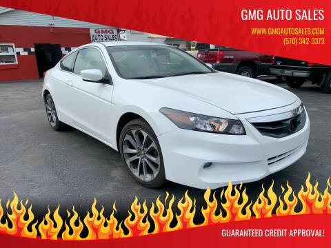 2011 Honda Accord for sale at GMG AUTO SALES in Scranton PA