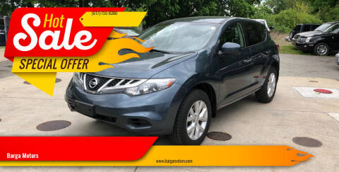 2012 Nissan Murano for sale at Barga Motors in Tewksbury MA